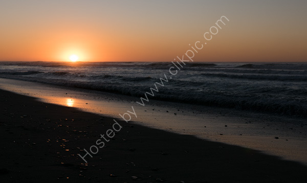 Hokitiki Beach Sunset
