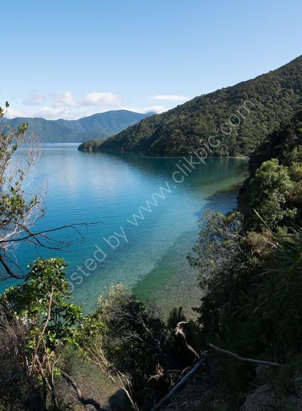View from Blumine Island