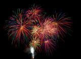Feuerwerk in Vockenhausen