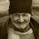 Älterer Herr in Sibiu, Rumänien