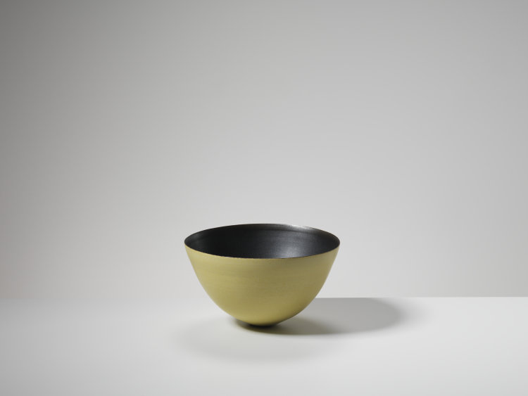 Black and Yellow Bowl