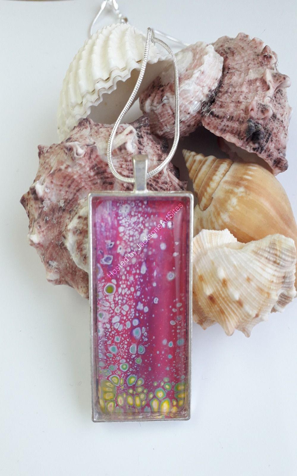 Large Pink pendant