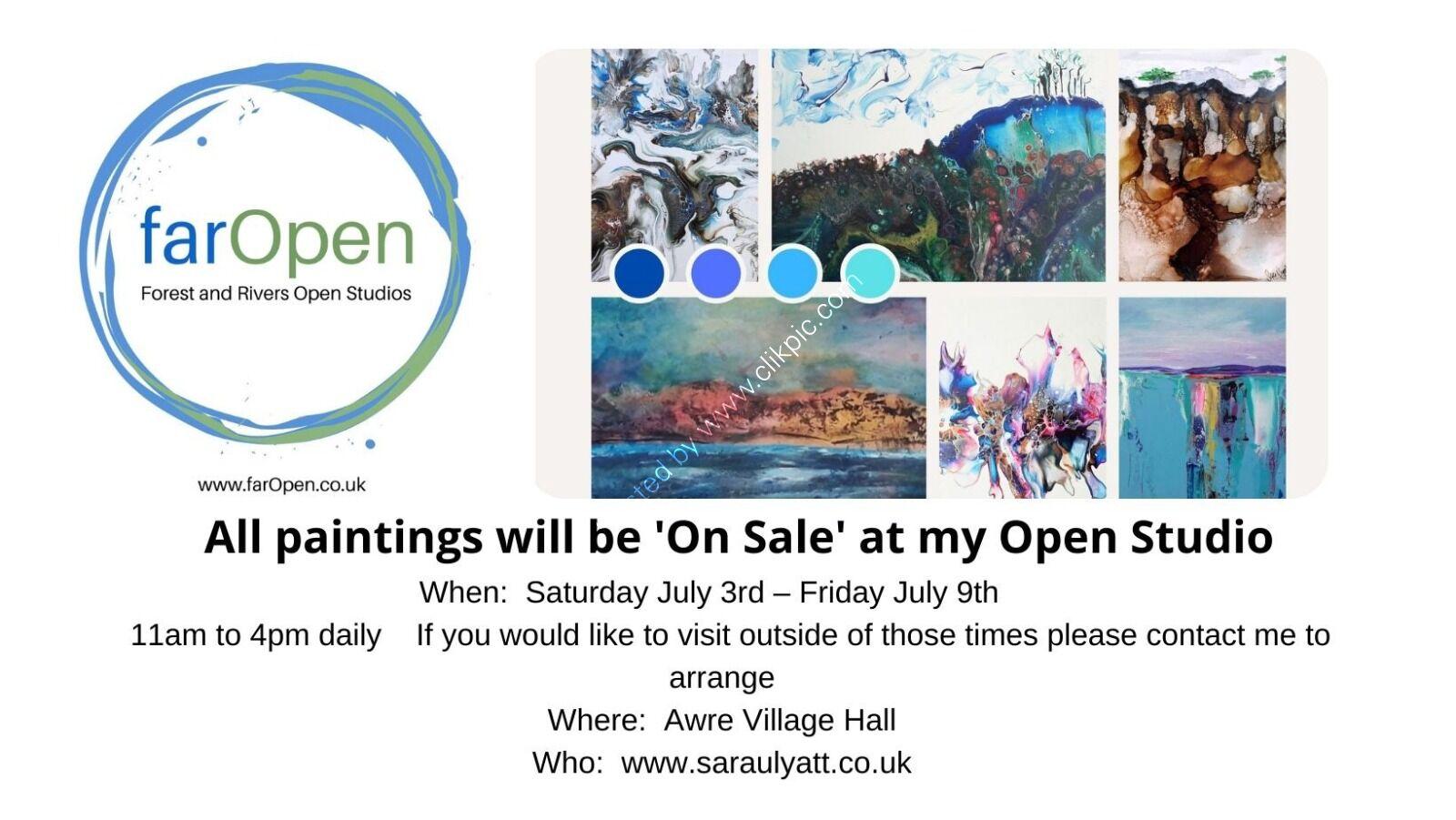 Open studio sale