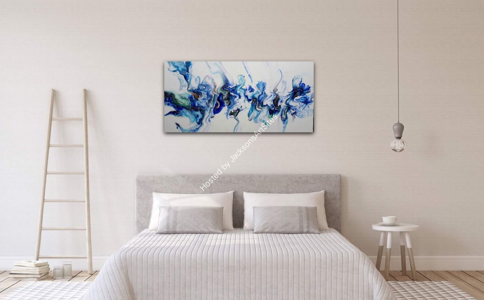 Out of The Blue on wall