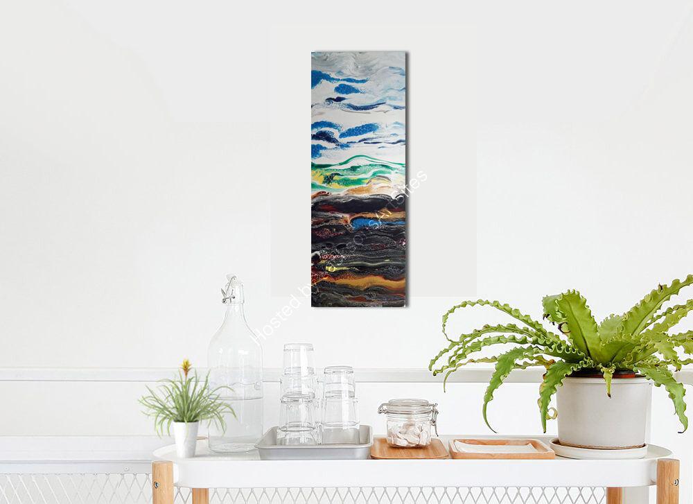 winter landscape on wall