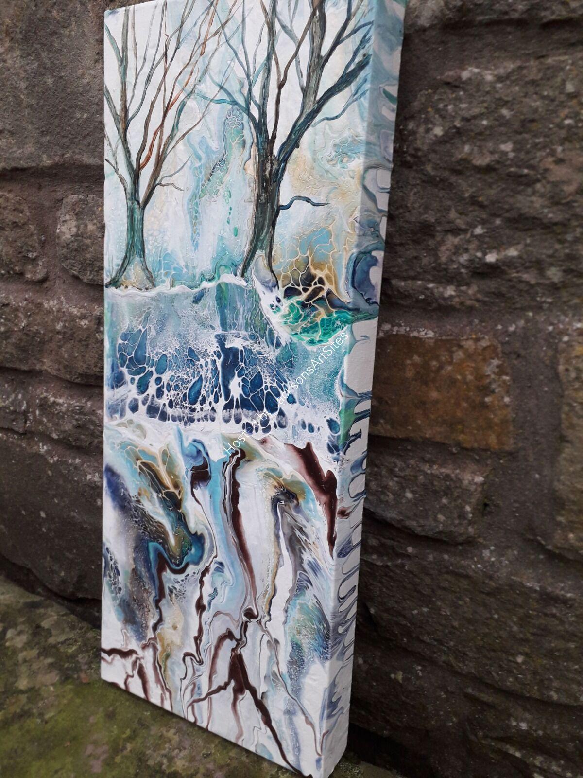 winter woods side