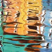 Burano reflections 3 - pastels