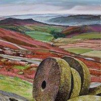 Millstones Stannage Edge pastels
