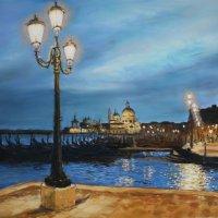 Venice evening - pastels