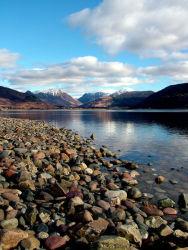 Glencoe from Loch Linnhe