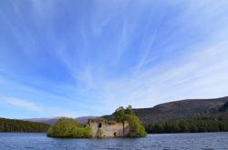 Loch-an-Eilein-Summer-Clouds
