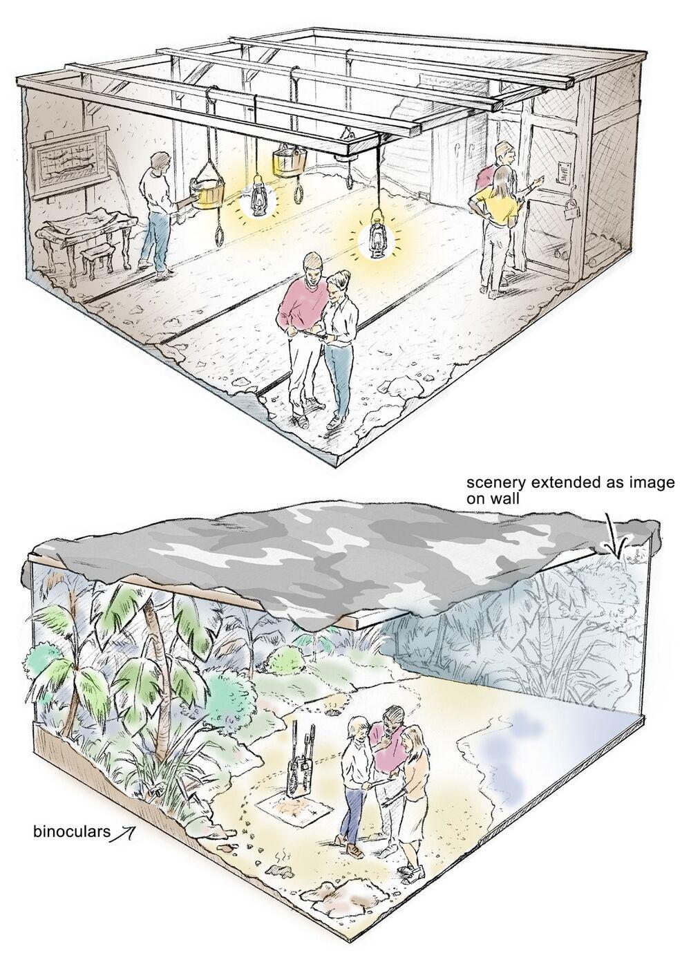 PencilRoughs_BearGrylls_SallyBarton_storyboards