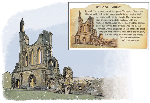Byland Abbey. English Heritage