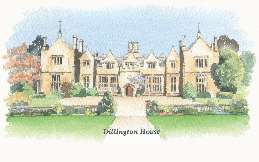 sallybarton_watercolour_DillingtonHouse_WeddingVenue