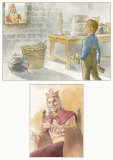 'King's Story' illustrations 3 & 4