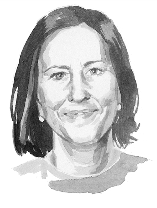 portrait_sally barton_Kirsty Wark_Newsnight