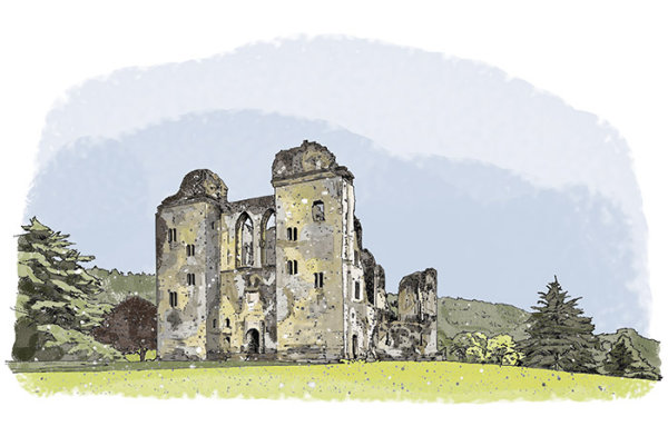 Old Wardour Castle: English Heritage