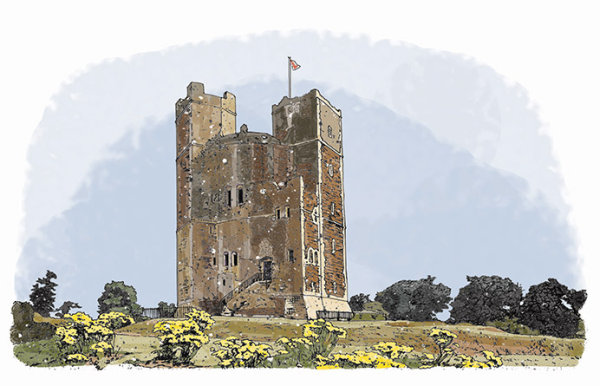 Orford Castle: English Heritage