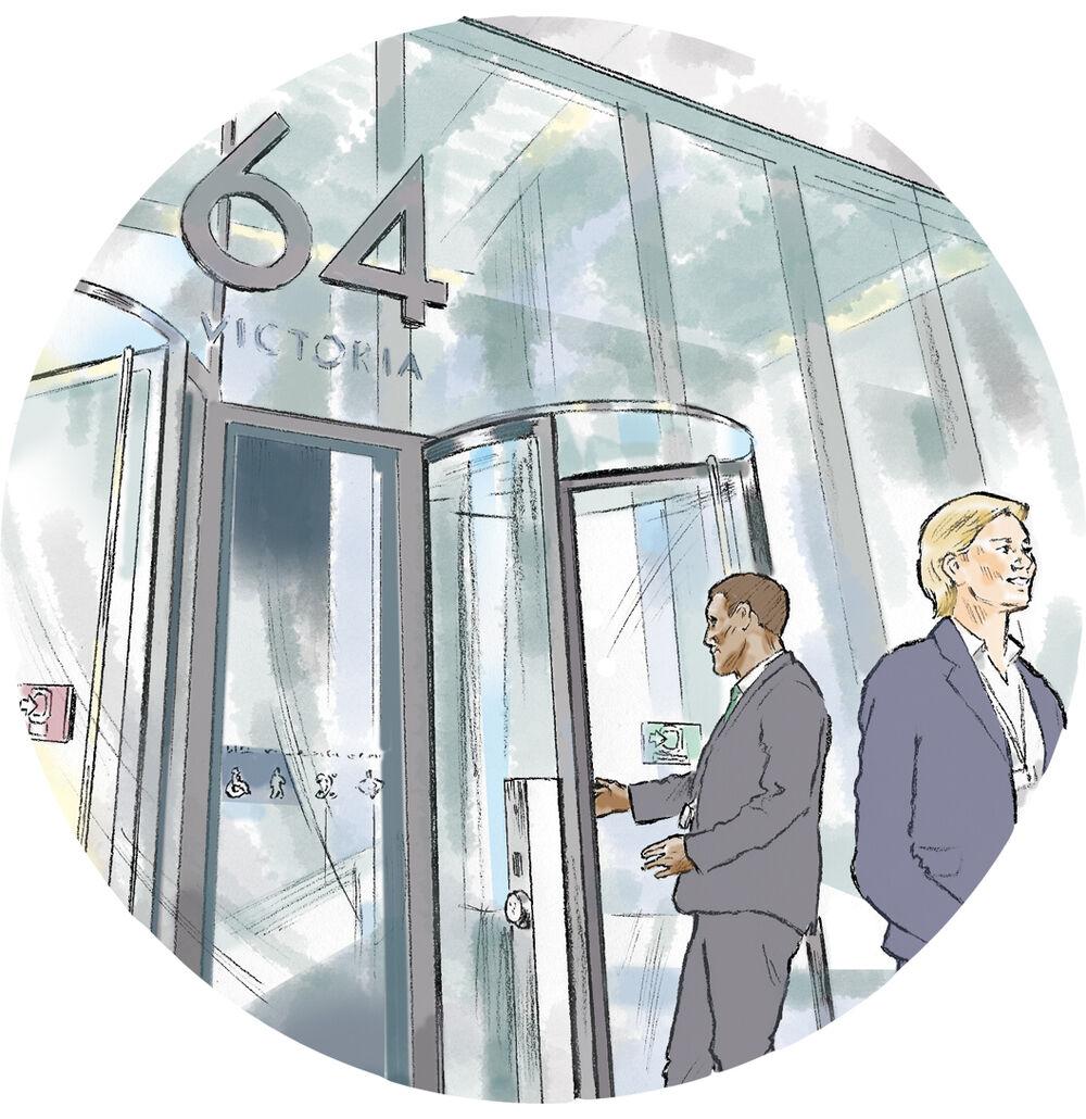 Digitalillustration_SallyBarton_UKParliament_Buildings_figurative_premises