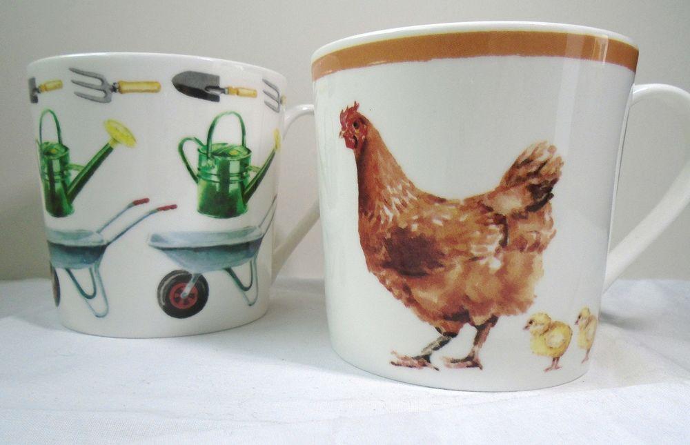 WaitroseMugs_SallyBarton_ChickenMug_gardenmug