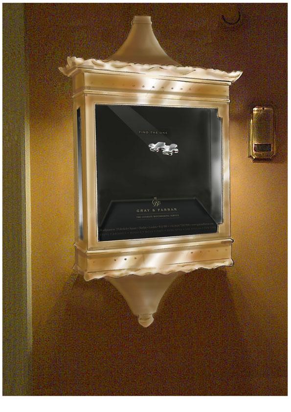 Hotel advertising installation visual 2