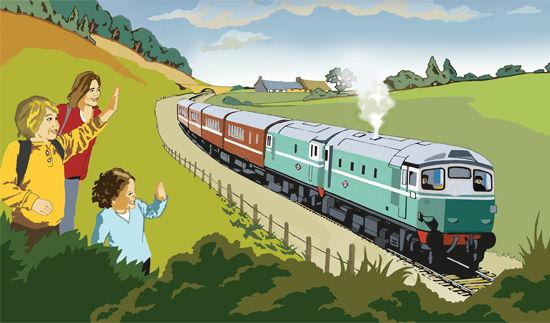 'Caledonian Railway' Poster 2