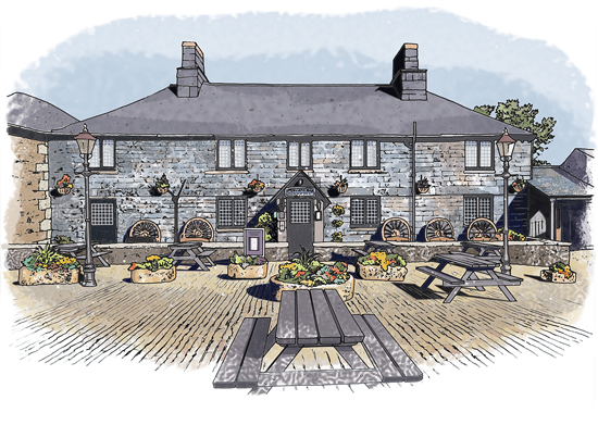 Jamaica Inn: from a series for the National Trust
