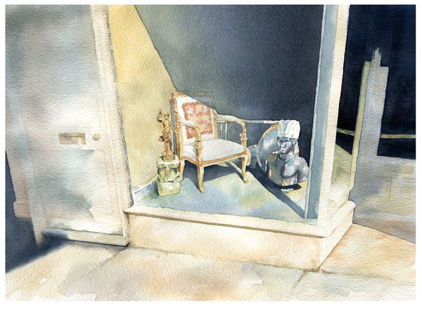 Antique Shop: Still Life_SundayTimesWatercolourExhibition