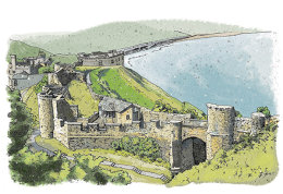 Scarborough Castle: English Heritage