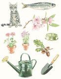 Illustrations for Waitrose product designs II