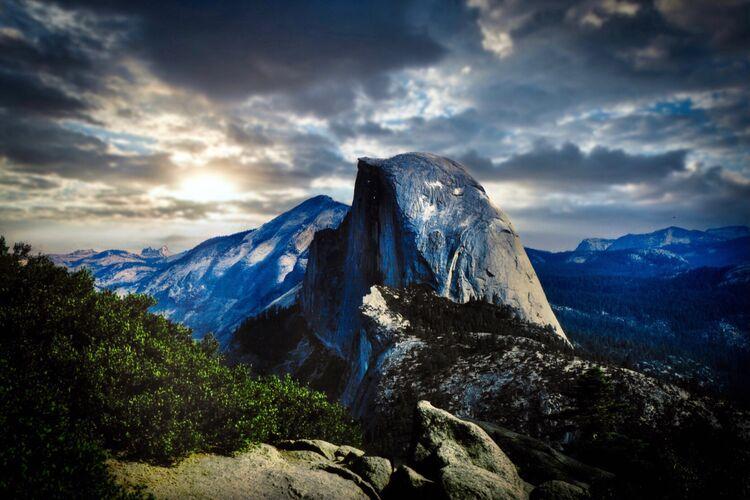 Stock Images - Half Dome USA