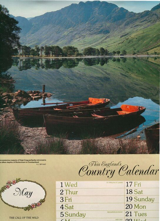 Published/Country Calendar
