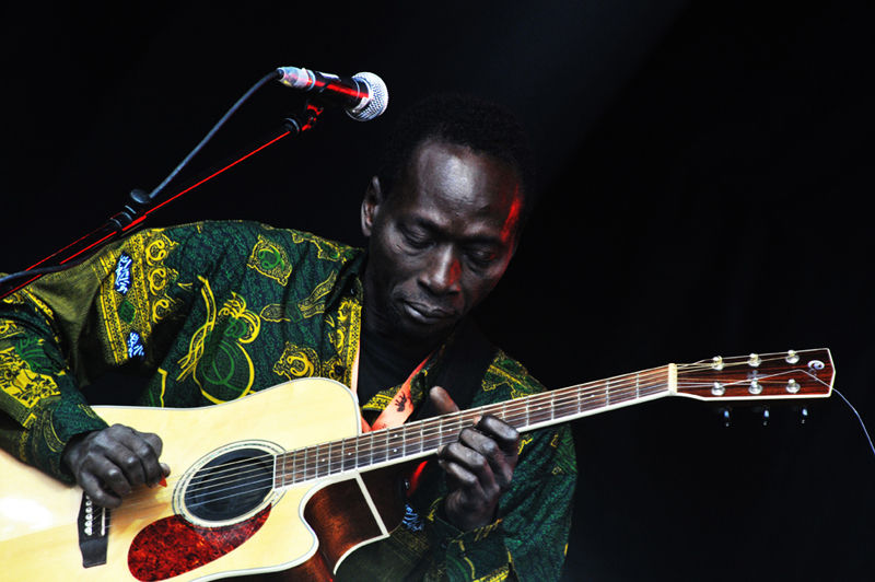 Victor Démé band, WOMAD, 2009