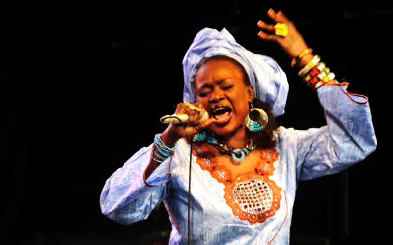 Oumou Sangaré, WOMAD, 2009