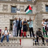 Demonstration, London