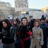 Women's March, London, 2017