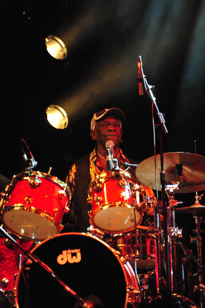 Tony Allen, WOMAD, 2010