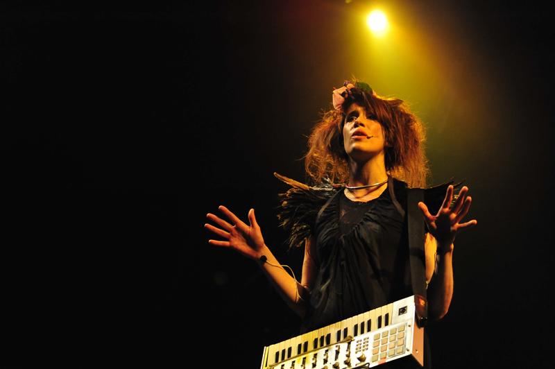 Imogen Heap, WOMAD, 2010