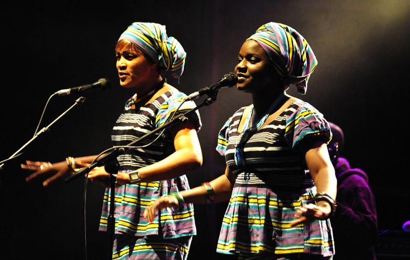 Salif Keita Band, WOMAD, 2010