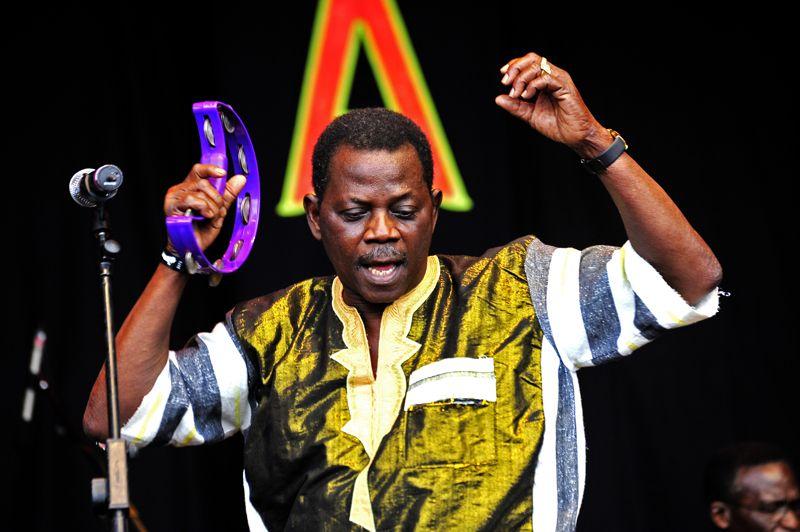 Orchestre Poly-Rhymo de Cotonou, WOMAD, 2010