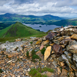 CATBELLS FROM HIGH CRAGS