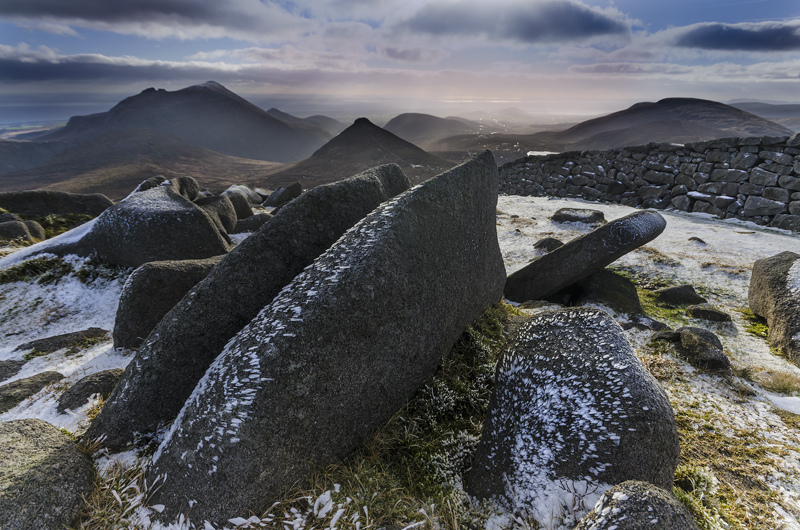 MOURNES IN WINTER