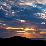 SUNSET AT ROYAL PORTRUSH