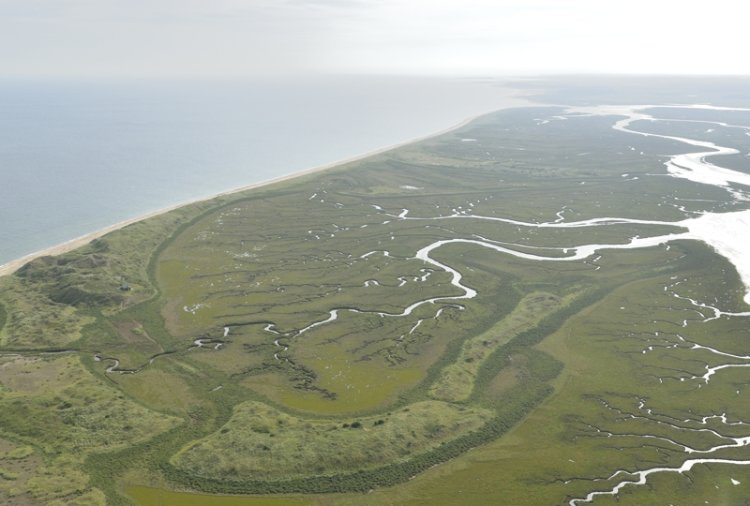 Aerial view of Scolt Head