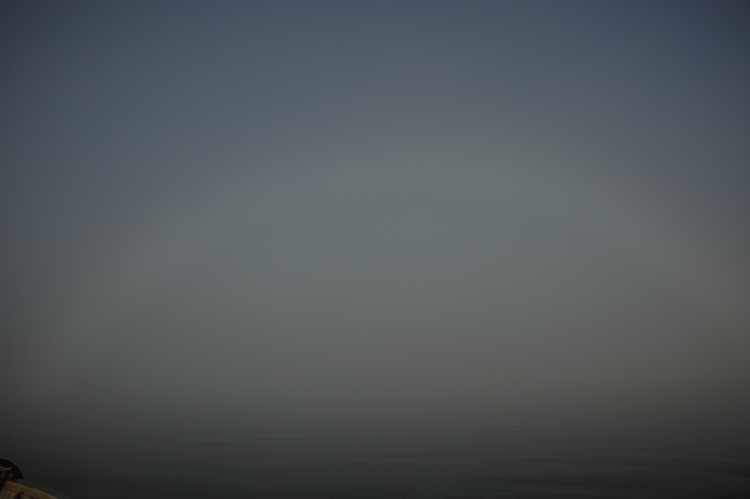An unusual and beutiful Fog-Bow