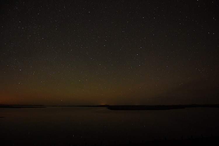 Night Sky Scolt Head Overy Staithe