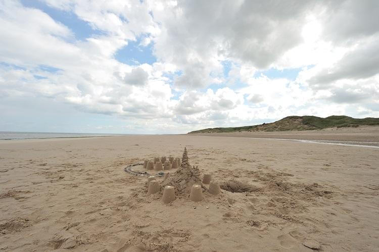 Sand Castle on Scolt Head