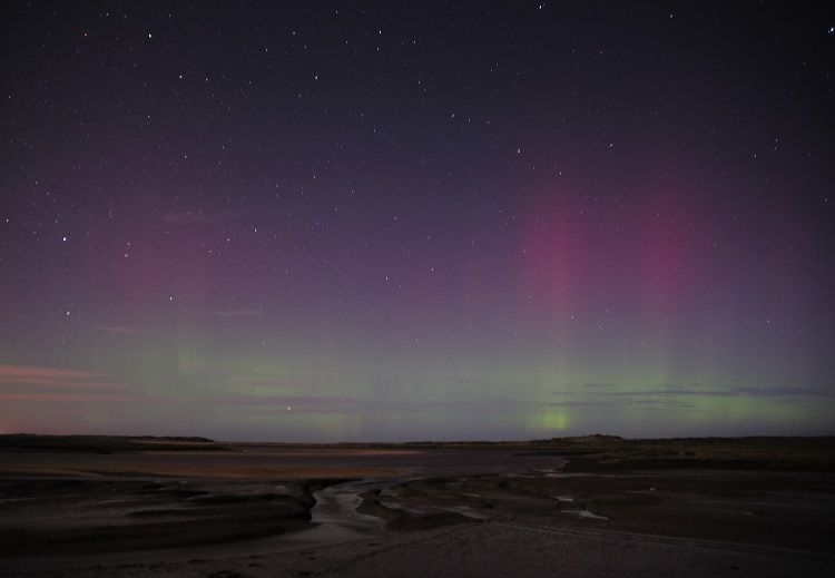 Scolt Head Aurora Norfolk
