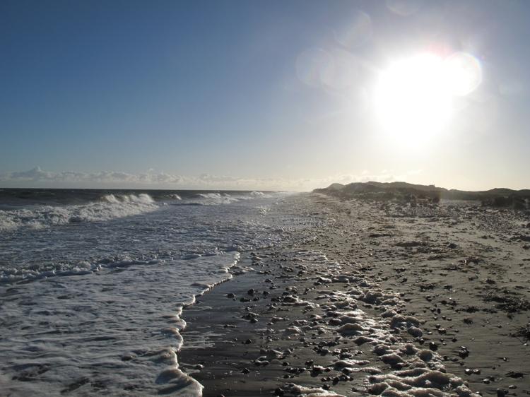 Scolt Head High Tide