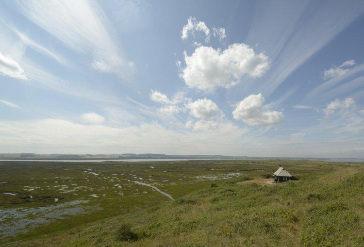 The Hut and Hut Marsh